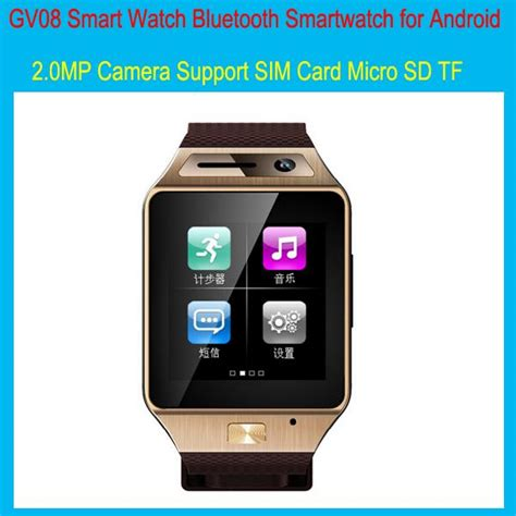 bluetooth update for android 2015 update gv08 smart gv08s bluetooth smartwatch for android wrist with 2 0mp