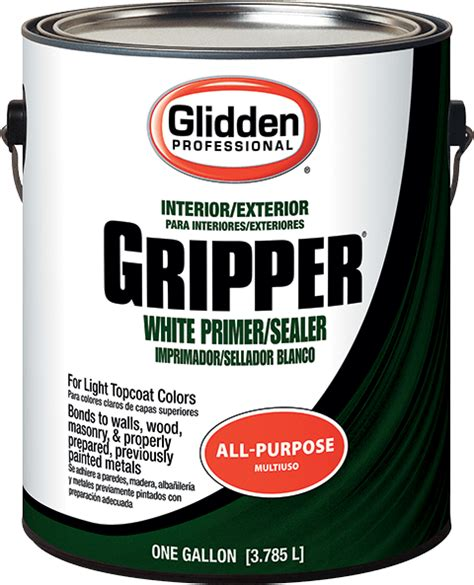 gripper 174 primer sealer glidden professional paint