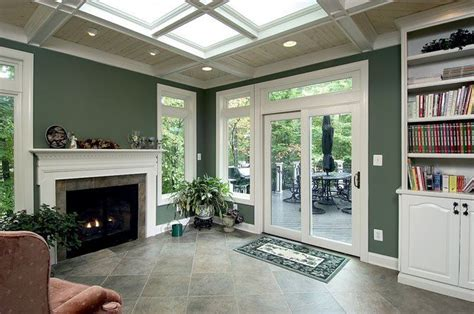 fire place in sun room 11 best ideas about sunroom with fireplace on