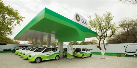 Car Types In Ola by Ola Has Just Opened The Charging Station For Its