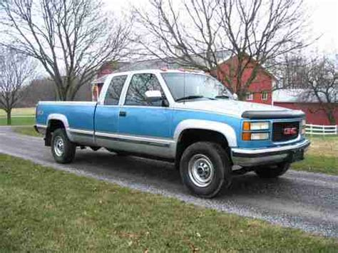 books about how cars work 1995 gmc 2500 instrument cluster purchase used 1995 gmc sierra 2500 sle 4x4 low miles