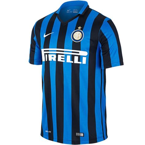 Jersey Inter Milan Home Sleeves 2015 2016 inter milan nike home jersey 2015 2016 football club soccer team official mens ebay