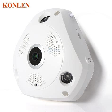 Kamera Cctv Fisheye hd wifi panoramic ip 3mp 360 degree fisheye network cctv security kamera storage