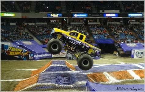 monster truck show in monster truck show 5 tips for attending with kids