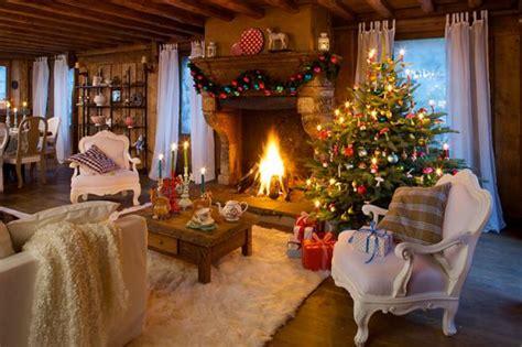 Dekoration Zu Weihnachten by Weihnachten Im Chalet Stil Festliche Deko Mit Alpen