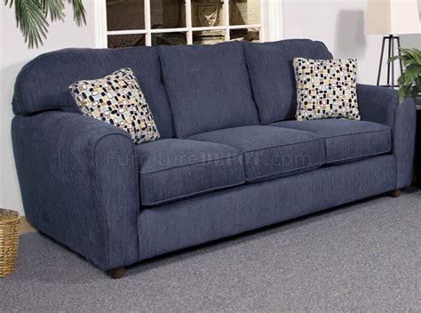 Navy Sofa Set by Blaze Navy Fabric Modern Sofa Loveseat Set W Options