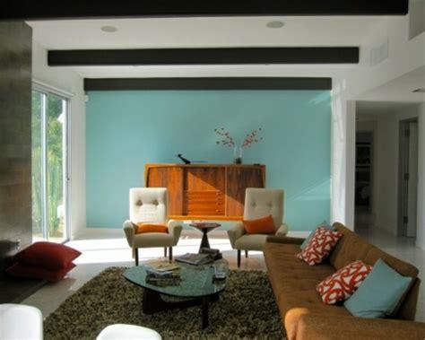 60s wohnzimmer wohnzimmergestaltung ideen im retro stil