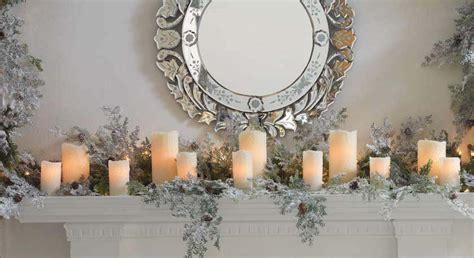 Raz Decor Mantels With String Candles From Raz Trendy Tree Blog