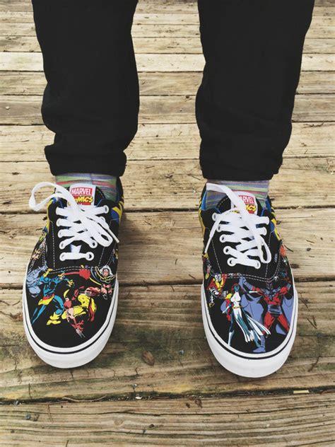 Vans Marvels Comic vans xmen marvel comics era lo skate shoe sneaker