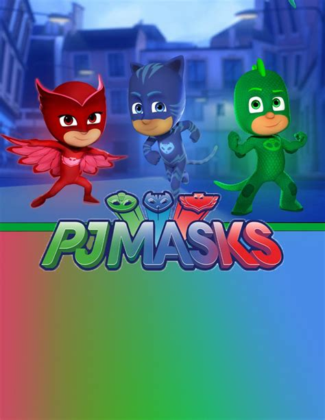 pj invitation free pj masks birthday printable files invitations
