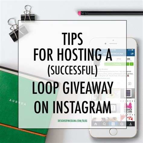 Graphic Design Giveaway Ideas - instagram tips blog tips and instagram on pinterest