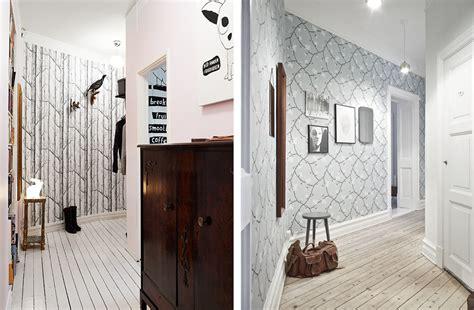 modele de tapisserie modele papier peint couloir familian