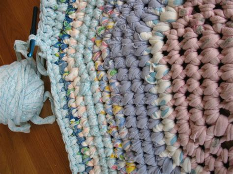 How To Crochet Rag Rugs How To Crochet A Rag Rug