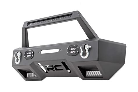 jeep bumper jeep wrangler jk front steel bumper led with winch plate