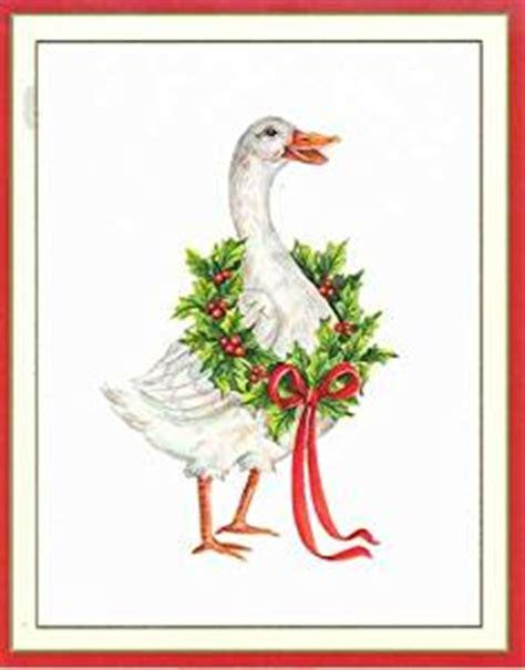 Caspari Boxed Cards - caspari goose boxed cards