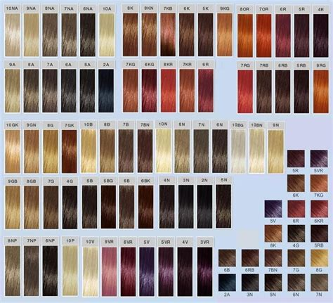 goldwell red hair color chart goldwell top chic swatches hair makeup pinterest