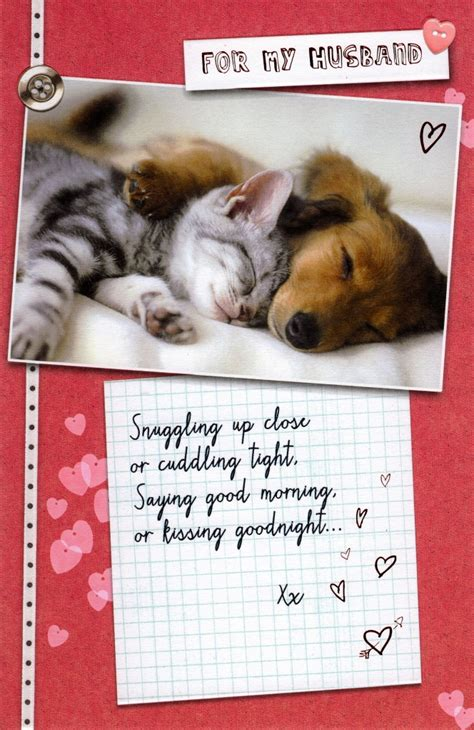 Free Gift Cards Without Completing Offers - for my husband cat dog valentine s day card cards love kates