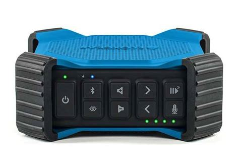 rugged voice ecoxgear ecodrift rugged waterproof bluetooth speaker with integrated siri and voice