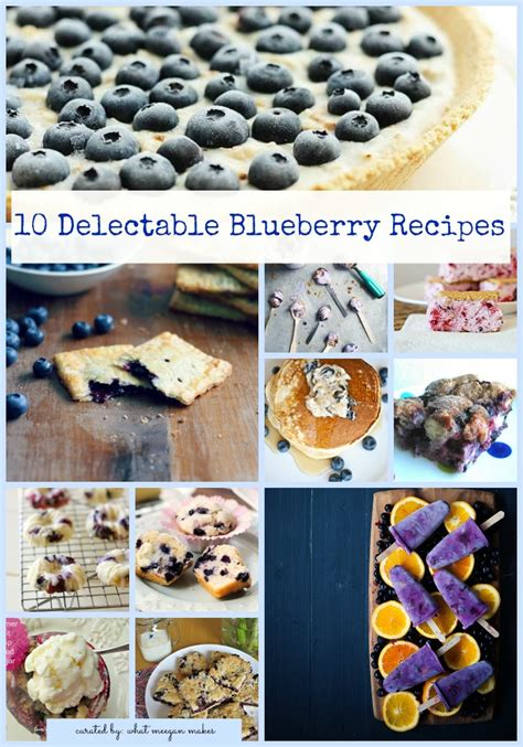 10 delectable blueberry recipes what meegan makes