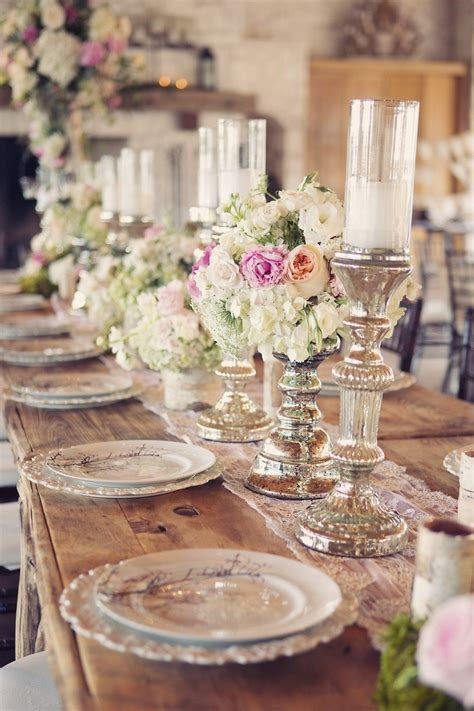 romantic table settings romantic table setting art de la table pinterest
