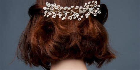 Coiffure Pour Cheveux Court by Les Plus Belles Coiffures De Mariage Pour Cheveux Courts