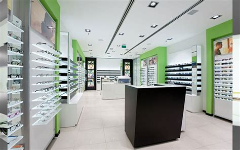 optical shop design layout κατάστημα bairamoglou