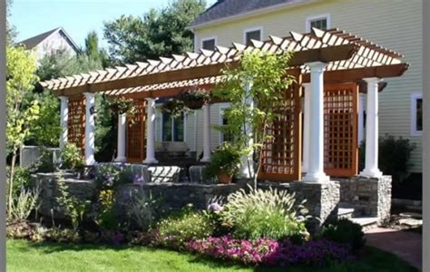 top 28 average cost of a pergola cost to build a