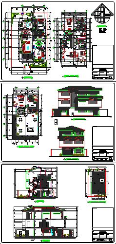 classic home design drafting classic house 2d dwg full project for autocad designs cad