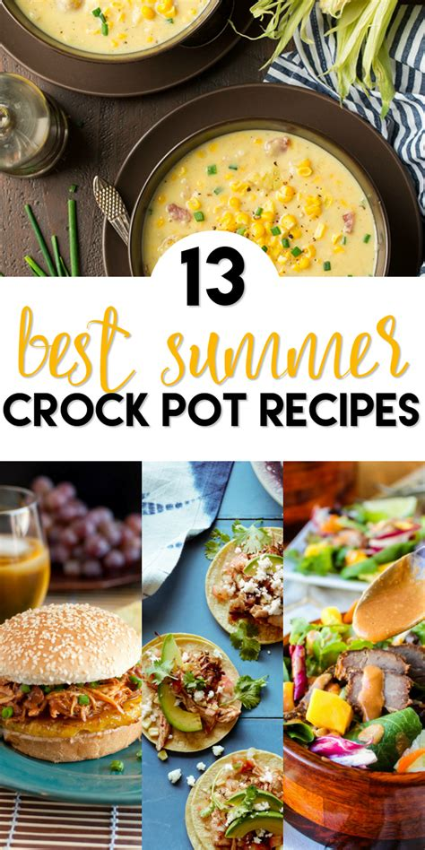 13 best summer crock pot recipes a grande life