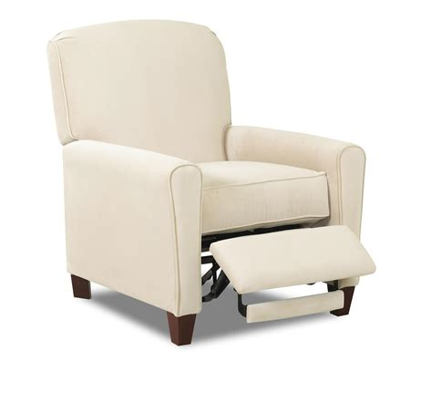 klaussner hybrid high leg reclining chair johnny janosik