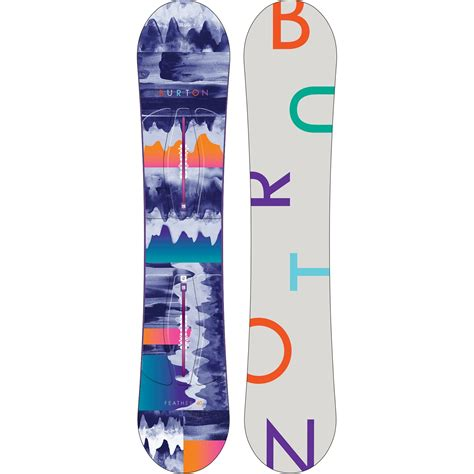 snowboard tavole burton tavola snow feather