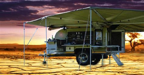 Luxury Caravan 4x4 off road trailers amp caravans