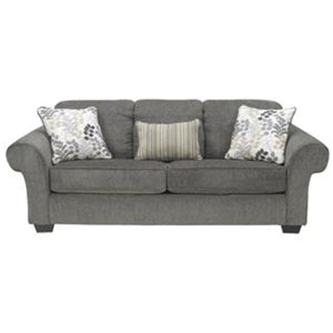 Sofa Mart Spokane Valley by Signature Design By Makonnen Charcoal Sofa With