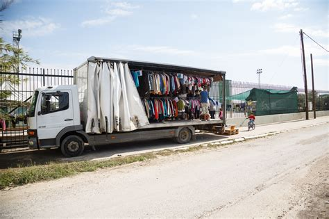 mobile truck mobile truck shop free clothes for refugees david