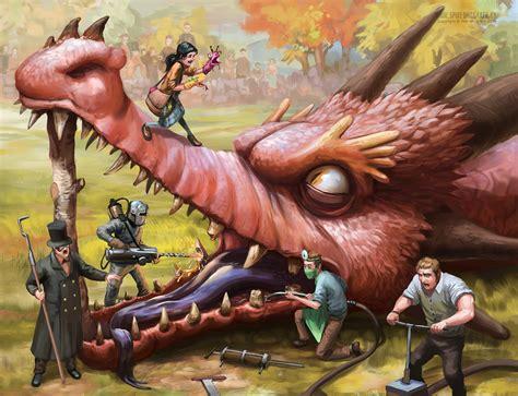 The Dragoon the dentists by spikedmcgrath on deviantart
