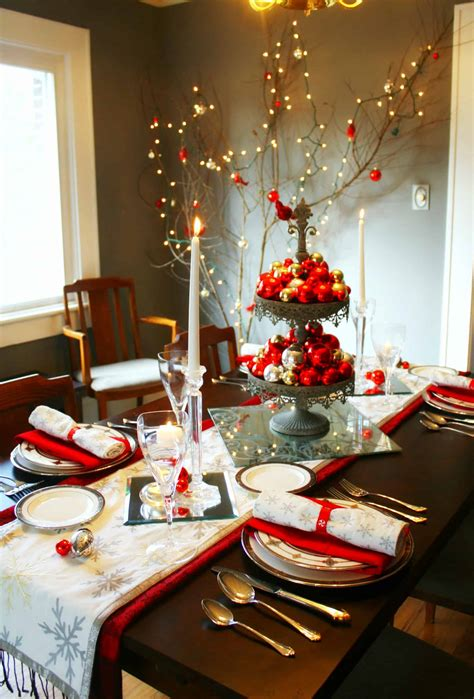 christmas luncheon decorating ideas 20 wonderful dinner table settings for merry holidays homesthetics inspiring ideas