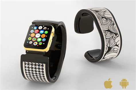 Kitchen Hardware Trends bracelite is interactive e paper apple watch band