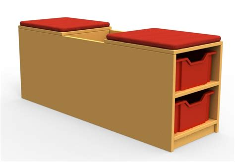 book bench curve book bench unit with cushion 1 tray high online