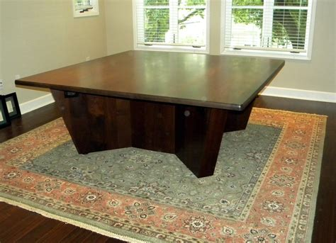 Square Conference Table Made Square Conference Table By Wood Works Custommade
