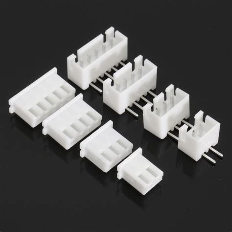 Connector Xh 254 2p Right Angle excellway 174 terminals 40 pcs 2p 3p 4p 5pin right angle jst xh lipo balance connector