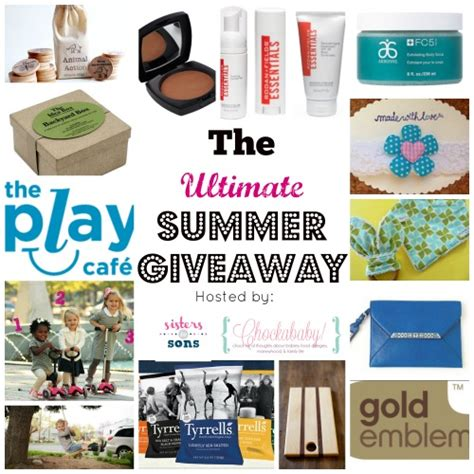 Summer Giveaway - the ultimate summer giveaway the motherchic