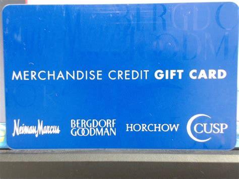 Neiman Marcus Gift Card - neiman marcus merchandise credit gift card buya
