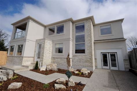 natural light in homes contemporary exterior with light natural stacked stone