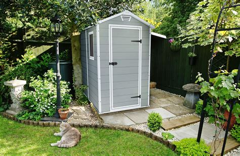100 keter manor 4x6 shed outdoor resin storage amazon com keter manor large 4 x 6 ft resin outdoor