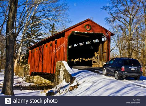 christmas decorations lancaster pa pennsylvania winter scenic stock photos pennsylvania winter scenic stock images alamy