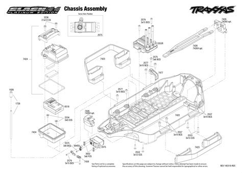 traxxas slash 4x4 parts diagram traxxas e maxx parts diagram traxxas rustler schematic