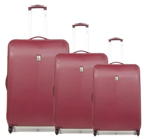 Delsey Extendo 3 4w Expandable Trolley 3 Set 100 delsey trolley set line extendo 3 cabin medium large