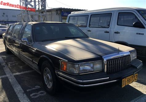 Car Limo by Spotted In China Lincoln Town Car St Tropez Stretched