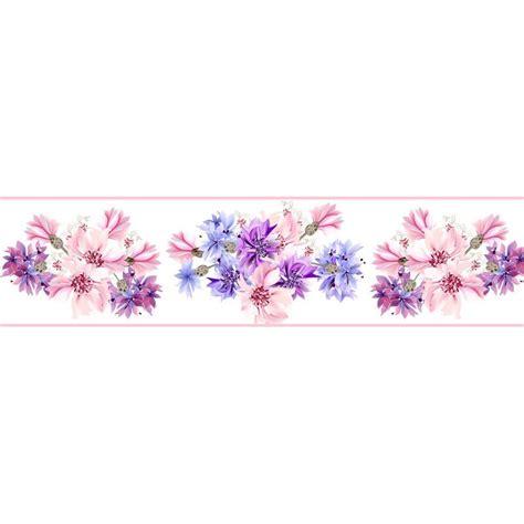 cenefas de flores cenefa floral cef012 vinilosdecorativos