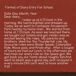 Dairy Report Writing by Diary Sles Images